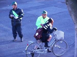 自転車運転マナーアップ